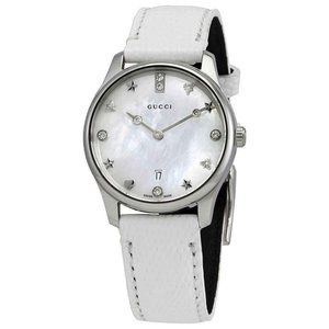 Gucci G-Timeless MOP Dial Ladies Watch